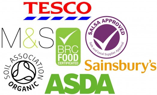 Some of the food manufacturers we work with
